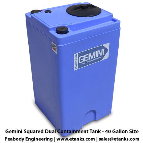 Gemini Squared 40 Gallon Tank