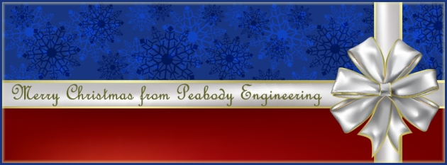 Merry Christmas from Peabody Engineering